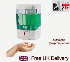 New Automatic Sensor Soap Dispenser Sanitizer Bathroom Wall Mounted Visible Liqu