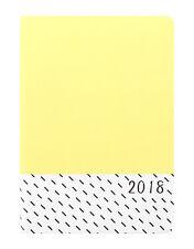 Letts A6 Flexi patrón Popsicle Limón día a una página diario 2018 (18-080945P)