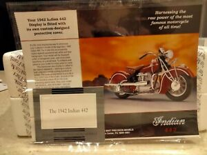 Franklin Mint   1942 Indian  442    1/10 scale   No Returns