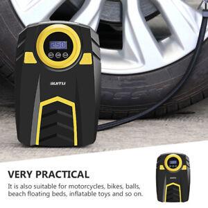 Compresseur d'air portatif électrique pour auto moto vélo 100PSI