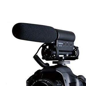 TAKSTAR SGC-598 Photography Interview Microphone Hotography Interviews VideoMic