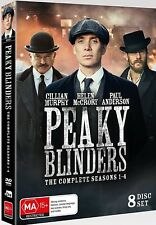 PEAKY BLINDERS 1-4 (2013-2017): COMPLETE Gangster TV Season Series - Au R4 DVD