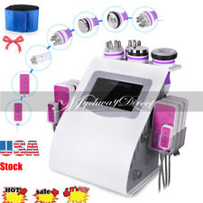 6in1 40K Cavitation Ultrasonic Radio Frequency Weight Loss Body Slim Machine SPA