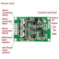 DC 12V-36V 500W Brushless Motor Controller Hall Motor Balanced Auto Driver Board