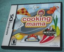 Cooking Mama (Nintendo DS) - Complete in Box U.S VERSION!