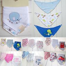 Hot sale 3Pcs Baby  Kids Triangle Head Scarf Bandana Bibs Saliva Towel Dribble