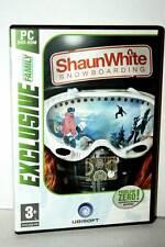 SHAUN WHITE SNOWBOARDING GIOCO USATO OTTIMO STATO PCDVD ED. ITALIANA EXCLUSIVE