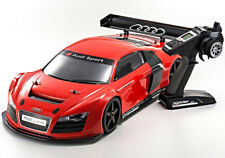 KYOSHO NITRO INFERNO GT2 RACE SPECS AUDI R8 LMS RED  - READYSET