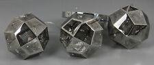 Kugel-Cluster-Pendelleuchte Silber Leuchte 3-flammig Hängelampe Lampe G10-22843