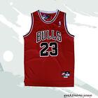 BULLS Michael Jordan Chicago Bulls #23 Basketball Jersey Red Men Jersey