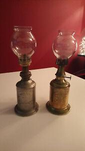 Lot 1lampe Pigeon +1 lampe La Parisienne; anciennes, collection, lampe à pétrole