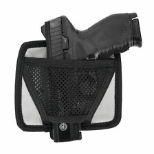 Magnet Handgun Hanger Wedge Shape Mesh Pouch Great For Safes Metal Cabinets NEW
