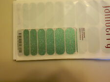 Jamberry Nails (new) 1/2 Sheet MINT SPARKLE