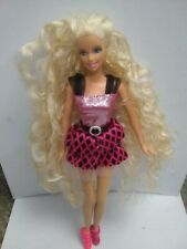 Barbie I Can Curl My Hair Very Long With Tongs