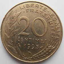 FRANCE 20 CENTIMES 1995