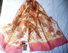 100% Silk Vintage Scarves & Wraps