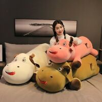 The Year of The Cattle Plush Toy Giant Soft Cow Pillow Stuffed Animal Kids Gift