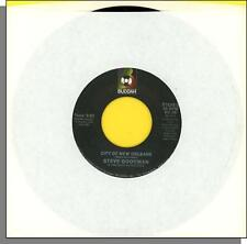 "Steve Goodman - City of New Orleans + Would You Like To Learn to Dance - 7"" 45"