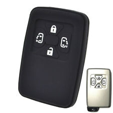 For Toyota Estima Alphard Vellfire Silicone Key Cover Remote Case 4 Button Shell