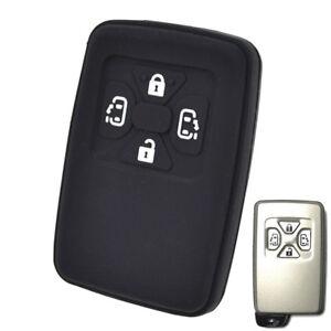 4 Button Silicone Key Case Remote Fob Cover For Toyota Estima Alphard Vellfire