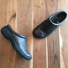 Merrell Encore Nova Brown Leather Slip On Mules Clogs Women's sz 7