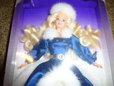 Barbie Doll Special Occasion Blonde Hair 15831 Gown Fashion 1996 Fur Coat  NIP