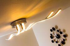 Plafonnier LED Chrome Lampe à suspension Design Lustre Lampe de séjour 129172