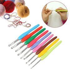Multicolor Manejar Kit Raza Agujas de tejer Gancho del crochet Loom Tools Metal