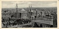 Vintage Egypt Postcard Cairo General View Panoramic Bookmark Style BE4