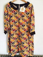 BNWT Orla Kiely for UniQlo Red and Orange Dress Size L