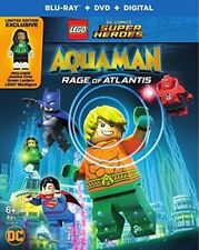LEGO DC Super Heroes: Aquaman: Rage of Atlantis (w/mini figurine) [New Blu-ray]