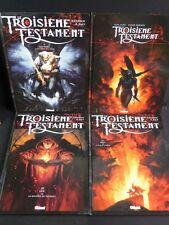 LE TROISIEME TESTAMENT lot INTEGRALE des 4 tomes 2 3 4 en EO TBE