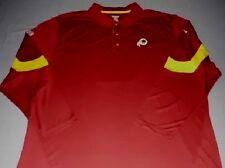 Washington Redskins Horizon Sideline Polo Shirt Medium Long Sleeve Reebok NFL