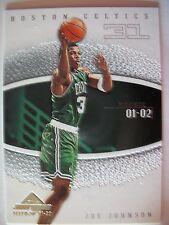 2001-02 Fleer Marquee Joe Johnson R/C , Celtics ! Box 5