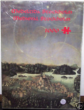 "RARE Parhelia ""MEDIEVAL STOCKHOLM"" Church Castle Painting Jigsaw Puzzle *NEW*"