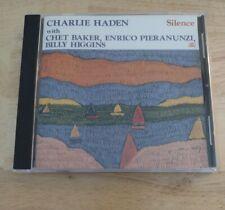"""CHARLIE HADEN  """"Silence""""  1989 Soul Note CD w/ Baker/Pieranunzi/ Higgins OOP"""