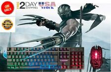 Fortnite Keyboard Mouse Set Adapter for PS4 PS3 Xbox One and Xbox 360 Gaming LED
