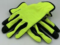 NEW Wells Lamont All-Purpose Work Gloves Yellow Black Size Large NWOT