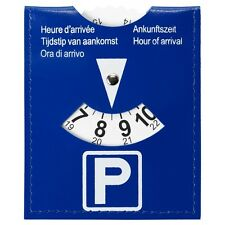 Parking disc - European standard