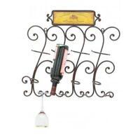 Metal Wall Wine Rack Wine Bottle Holder Wine Cellar Wine Rack Rustic Gift