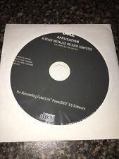 Dell DVD Cyberlink PowerDVD 9.5 Reinstallation Disc Brand New Unopened Unused