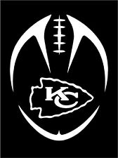 New Tribal Kansas City Chiefs Decal / Sticker Mahomes Hill Kelce  -- Free Ship