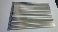 25 stainless steel tie wraps 200mm x 4.6mm