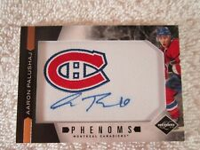 Aaron Palushaj 2011-2012 Panini Limited Phenoms Patch Autograph Card No.206