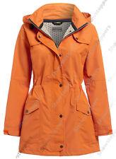 Nuevo Abrigo Impermeable Chaqueta De Las Señoras Impermeable Mujer Talla 10 12 14 16 18 20 22 24