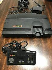 NEC TurboGrafx-16 Black Console TESTED Video Game System
