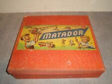 Matador Baukasten, Matador 6, alt/groß/schwer, ansehen!