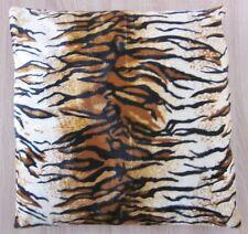 Kissenhülle Tiger Fellimitat Plüsch Dekokissenhülle Kissenbezug 50 x 50 cm