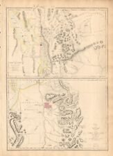 1863 Large Antique Map - Dispatch Atlas-Usa-Great Salt Lake And (Mormon) City