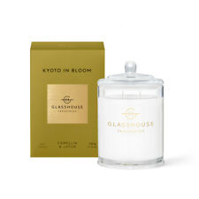 Glasshouse Kyoto in Bloom Camellia & Lotus Candle 380g